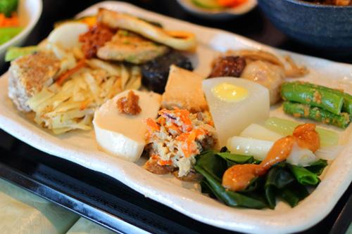 玄米菜食プレート