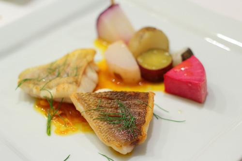 高知産天然鮮魚のソテー