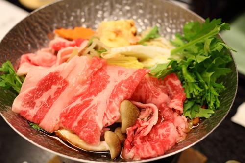 台のもの 雪鍋 牛肉 本日の野菜 割り下2