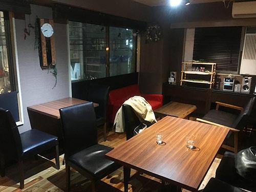 オーガニックカフェhan 店内2