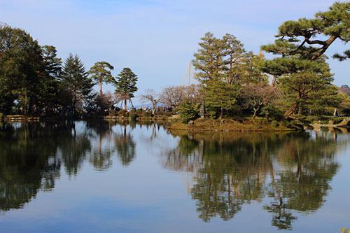 兼六園の霞ケ池