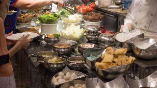 蓮香齋素菜 (リエンシャンジャイスーツァイ) Jen Dow Vegetarian Buffet / 台北、台湾