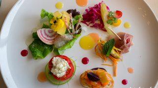 "Artistic Dishes & Nice View ""Sara, il Gastro Sara""  / Onnna, Okinawa"