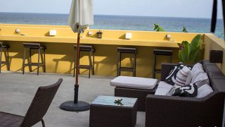 "Small Hotel with Great Ocean View and Meals ""WASSA WASSA"" in Ogimi-son, Okinwa"