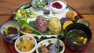 旬の島野菜と食材を使った料理『笑味の店』 / 国頭郡、沖縄